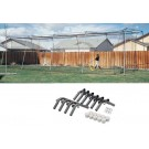 40' Net and Installation Kit for the Backyard Cage from ATEC
