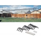 70' Net and Installation Kit for the Backyard Batting Cage from ATEC