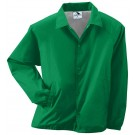 Adult Nylon Coach's Lined Jacket (2X-Large) From Augusta Sportswear