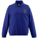 Youth Chill Fleece Half-Zip Pullover Jacket from Augusta Sportswear