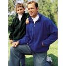 Youth Chill Fleece Zip Front Jacket (Dark Green Medium)