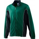 Adult Brushed Tricot Color Block Jacket from Augusta Sportswear