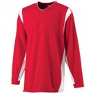 Wicking Long Sleeve Warmup Shirt from Augusta Sportswear