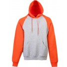 Adult Heavyweight Color-Blocked Hooded Sweatshirt from Augusta Sportswear