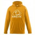 Wicking Fleece Hooded Sweatshirt - Youth from Augusta Sportswear