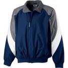Youth Tri-Color Fleece Lined Nylon Jacket from Augusta Sportswear
