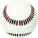 Seamed Pitching Machine Baseballs from Baden (White) - 1 Dozen