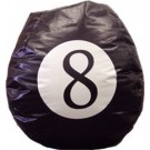 8 Ball Vinyl Bean Bag Chair