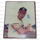 "Eddie Mathews Autographed Atlanta Braves 8"" x 10"" Photograph With PSA (Professional Sports Authentication) Certificate (Unframed)"