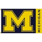 Michigan Wolverines Premium 3' x 5' Flag