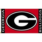 "Georgia Bulldogs ""G"" with Border Premium 3' x 5' Flag"