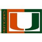 Miami Hurricanes Premium 3' x 5' Flag
