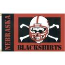 "Nebraska Cornhuskers ""Blackshirts"" Premium 3' x 5' Flag"