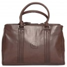 NCAA Georgetown Hoyas Dove Creek Leather Laptop Briefcase by