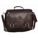 NCAA Air Force Academy Falcons Copper Canyon Expandable Leather Briefcase by