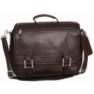 NCAA Georgetown Hoyas Copper Canyon Expandable Leather Briefcase by