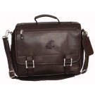 NCAA Washington State Cougars Copper Canyon Expandable Leather Briefcase by