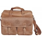 NCAA Georgetown Hoyas Sedona Canyon Leather Computer Briefcase by