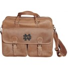 NCAA Notre Dame Fighting Irish Sedona Canyon Leather Computer Briefcase