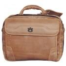 NCAA Auburn Tigers Dakota Pines Leather Computer Briefcase