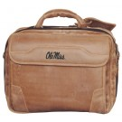 NCAA Mississippi (Ole Miss) Rebels Dakota Pines Leather Computer Briefcase by