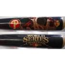 Philadelphia Phillies 2008 World Series Image Baseball Bat by