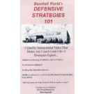 "Baseball World's ""Defensive Strategies 101"" (Video) by Tom Emanski (VHS)"