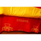 Iowa State Cyclones Printed Dust Ruffle (Full)