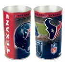 "Houston Texans 15"" Waste Basket"