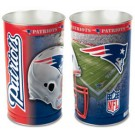 "New England Patriots 15"" Waste Basket"