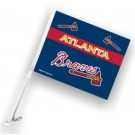 Atlanta Braves Car Flags - 1 Pair