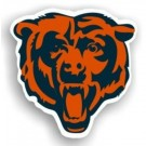 "Chicago Bears 12"" Logo Car Magnets - Set of 2"