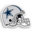"Dallas Cowboys 12"" Helmet Car Magnets - Set of 2"