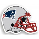 "New England Patriots 12"" Helmet Car Magnets - Set of 2"