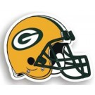 "Green Bay Packers 12"" Helmet Car Magnets - Set of 2"