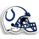 "Indianapolis Colts 12"" Helmet Car Magnets - Set of 2"