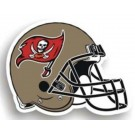 "Tampa Bay Buccaneers 12"" Helmet Car Magnets - Set of 2"