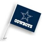 Dallas Cowboys Car Flags - 1 Pair