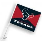 Houston Texans Car Flags - 1 Pair