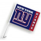 New York Giants Car Flags - 1 Pair