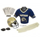 Franklin Pittsburgh Panthers DELUXE Youth Helmet and Football Uniform Set (Small) by
