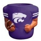 Kansas State Wildcats Jersey Can Coolers - Set of 4