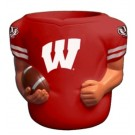 Wisconsin Badgers Jersey Can Coolers - Set of 4