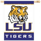 """Louisiana State (LSU) Tigers 27"""" x 37"""" Vertical Flag / Banner"""