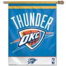 """Oklahoma City Thunder 27"""" x 37"""" Vertical Flag / Banner"""