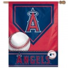 "Los Angeles Angels of Anaheim 27"" x 37"" Vertical Flag / Banner"