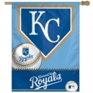 "Kansas City Royals 27"" x 37"" Vertical Flag / Banner"