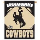 "Wyoming Cowboys 27"" x 37"" Vertical Flag / Banner"