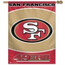 "San Francisco 49ers 27"" x 37"" Vertical Flag / Banner from WinCraft"