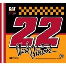 Ward Burton #22 Car Flag by